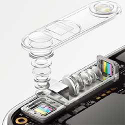 Oppo dévoile son triple appareil photo avec un zoom x10