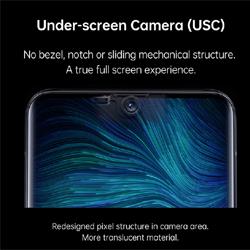 Oppo innove en présentant sa première caméra sous écran