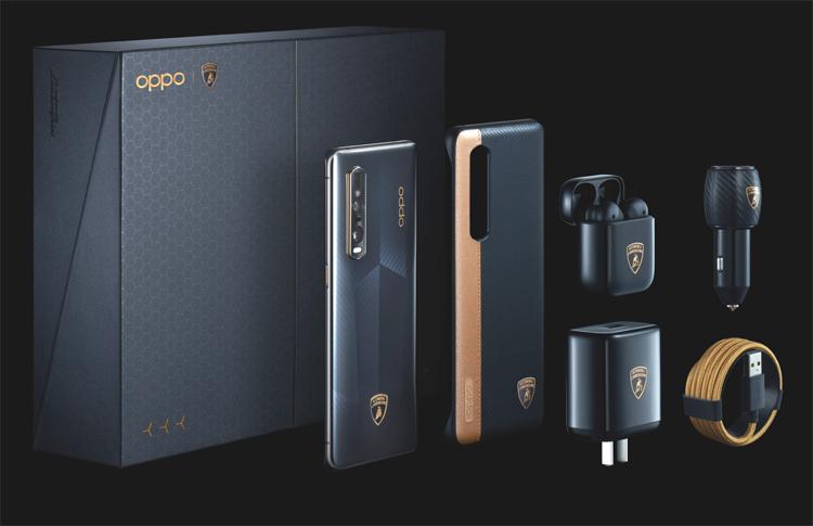 Oppo s'associe avec le constructeur italien pour concevoir le OPPO Find X2 Pro édition Automobili Lamborghini
