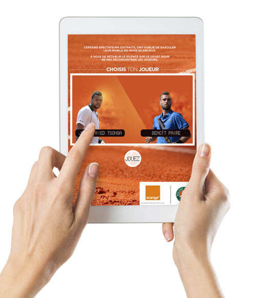 4G+ : Orange monte au filet à Roland-Garros