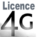 Orange, SFR, Bouygues Télécom et Free Mobile obtiennent une licence 4G