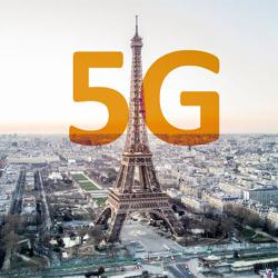 Orange, SFR, Free et Bouygues Telecom ouvrent leur réseau 5G à Paris en 3,5 GHz