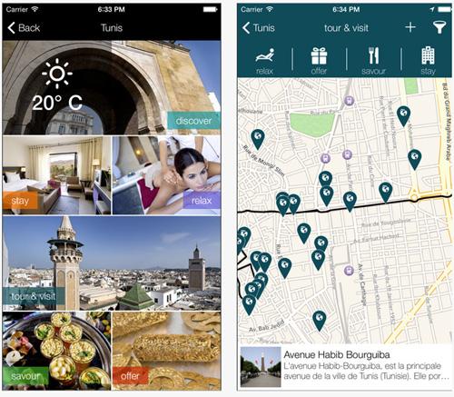 Orange Tunisie, une application mobile dédiée au tourisme en Tunisie