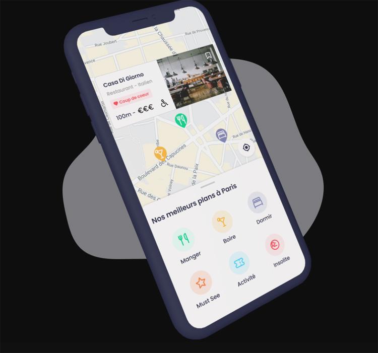 Parrot Traveler, une application pour redécouvrir les bons plans à moins de 1km de chez soi