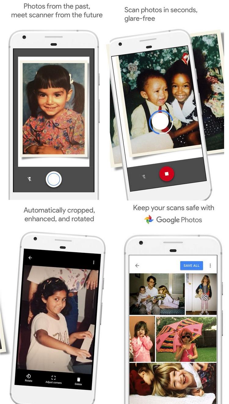 PhotoScan : l'application de Google pour numériser ses vieilles photos