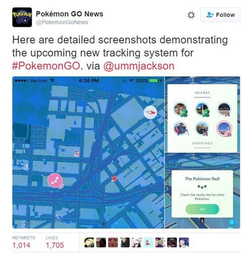 Pokemon GO : la dernière mise à jour répare le radar et l'économie de batterie pour iOS