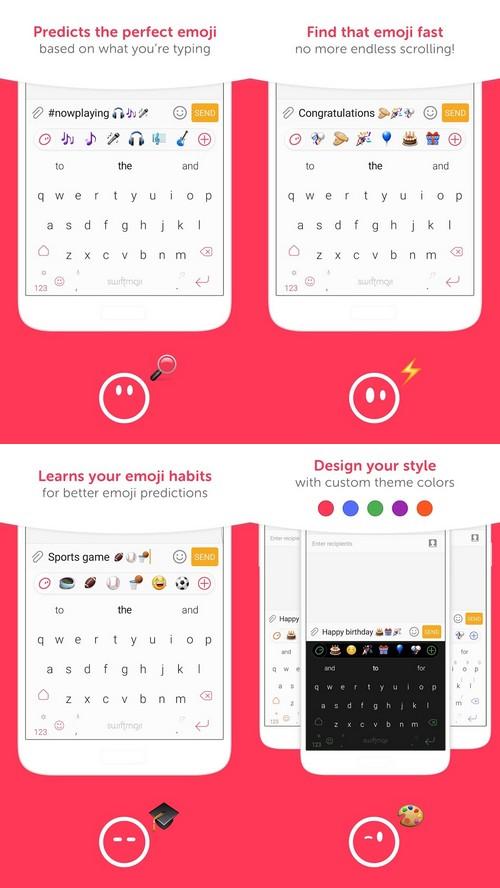Swiftmoji : un clavier pour prédire les émojis