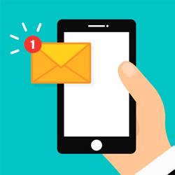 Presque la moitié des SMS envoyés sont des SMS de notification
