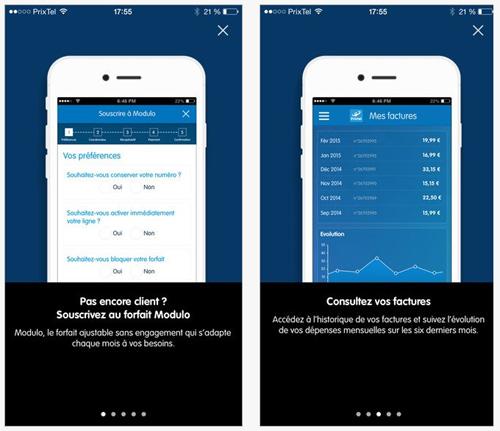 Prixtel lance son application mobile sur iOS