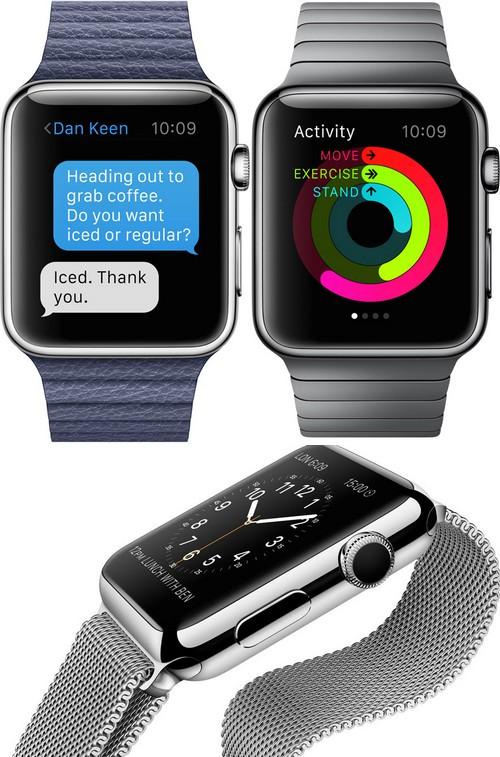Quatre vidéos permettent de découvrir les fonctionnalités de l'Apple Watch