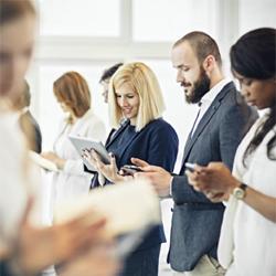 Quelle est la place pour la messagerie mobile en France dans les entreprises en 2021 ?
