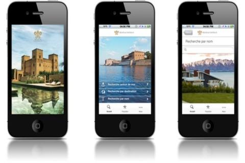 Relais & Châteaux dévoilent une nouvelle version de son application iPhone