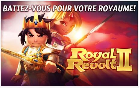 Royal Revolt est disponible sur Android