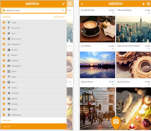 SABDOO : une application pour partager des bons plans