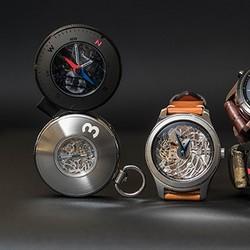Samsung a dévoilé trois concepts inspire de la Gear S3, dont une montre à gousset