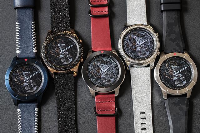 Samsung a dévoilé trois concepts de montres  inspirés de la Gear S3