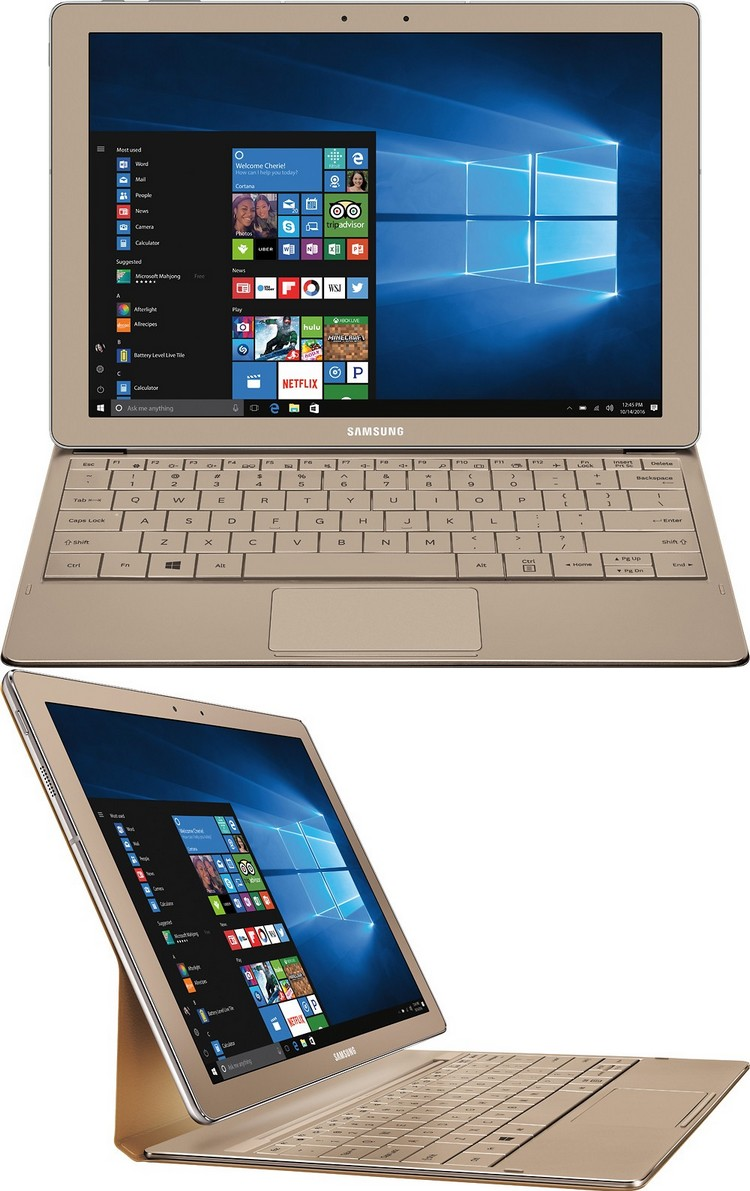 Galaxy TabPro S Gold Edition : de la RAM et de l'espace de stockage additionnel pour une variante dorée