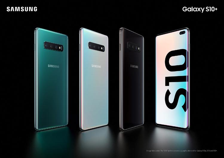 Samsung dévoile sa nouvelle gamme de Galaxy S10