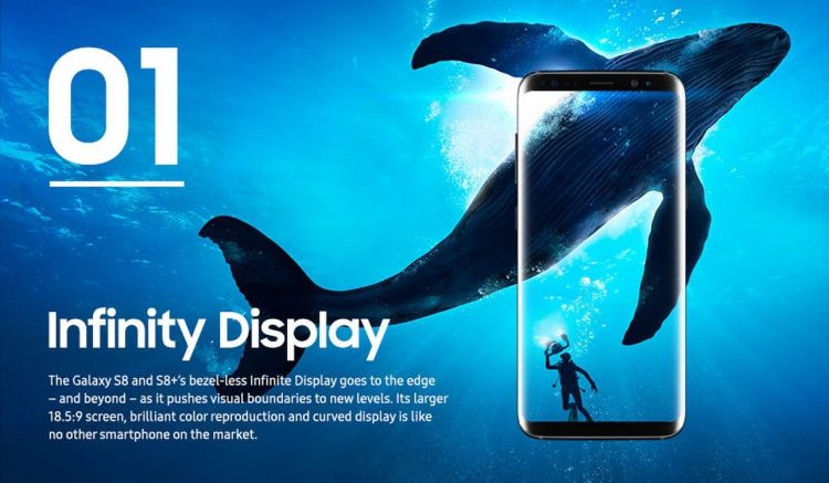 Samsung Galaxy A: un écran Infinite Display annoncé