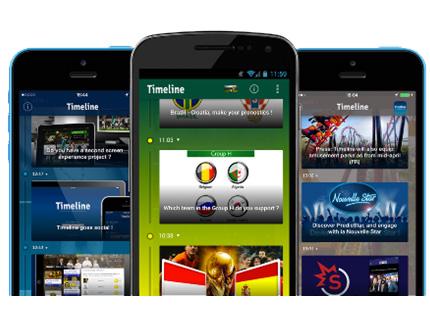 Screenity lance l'application pour interagir avec leur public