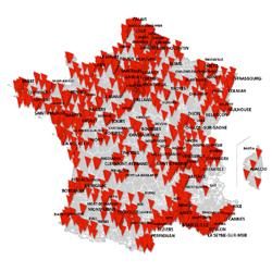 SFR : ouverture de 1071 communes supplémentaires en 4G et 430 en 4G+