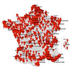 SFR : 30 communes ouvertes en 4G+ jusqu'à 500 Mbit/s