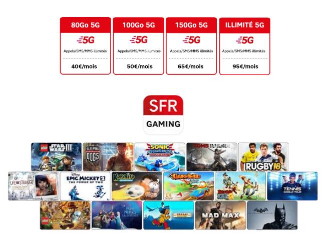 SFR lance ses offres 5G