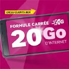 SFR  lance son plus gros forfait 4G avec 20 Go d'internet