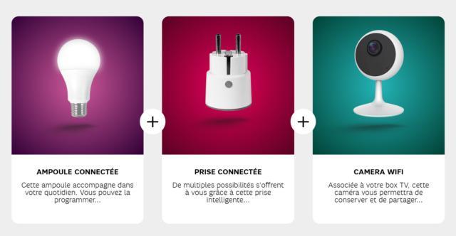SFR mise également sur la maison connectée avec un pack Smart Home