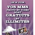 SFR : MMS Photo et Vidéo gratuits le 16 juin
