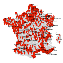SFR ouvre 1886 communes en 4G et 575 en 4G+