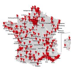 SFR accélère le déploiement de son réseau avec 896 communes supplémentaires en 4G ou 4G+