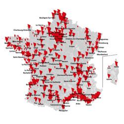 4G/4G+ : 1 993 communes supplémentaires en juillet et août chez SFR
