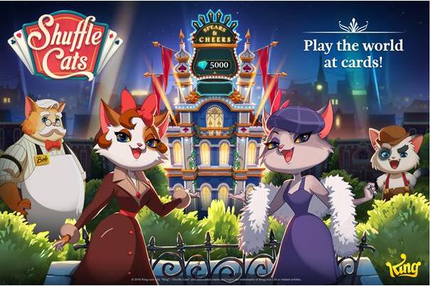 Shuffle Cats, un jeu de cartes multi-joueurs