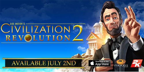 Sid Meier's Civilization Revolution est arrivé sur IOS