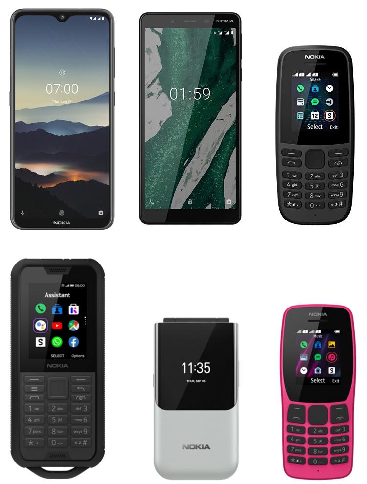 Six téléphones Nokia primés aux iF Design Awards 2020