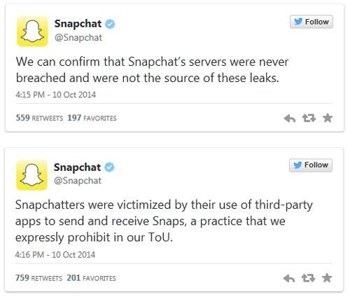 Snapchat : plus de 100.000 photos d'utilisateurs piratées et  publiées à leur insu