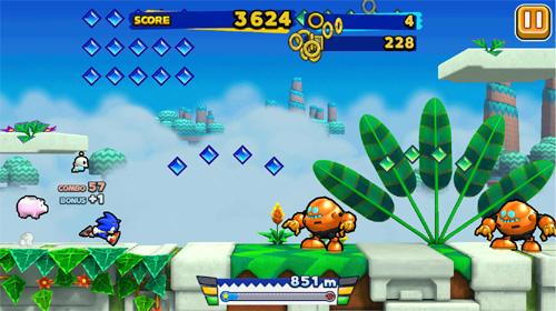 Sonic Runner est disponible sur iOS et Android