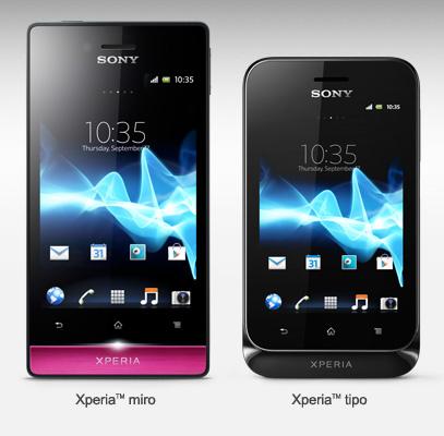 Sony dévoile deux nouveaux modèles de smartphone