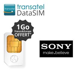 Sony Mobile et Transatel DataSIM offrent 1Go d'Internet pour l'achat d'une tablette Xperia Z4 ou Z3