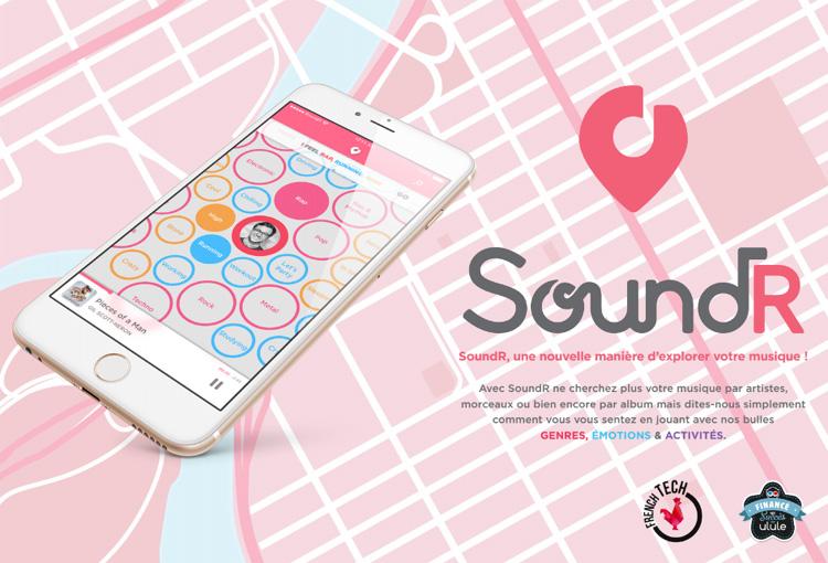 SoundR, une nouvelle application pour redécouvrir son univers musical