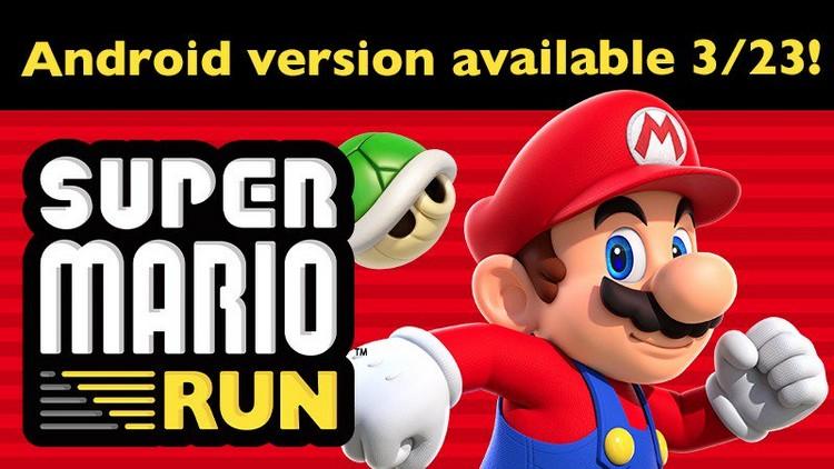 Super Mario Run est disponible cette semaine sur le Play Store pour Android
