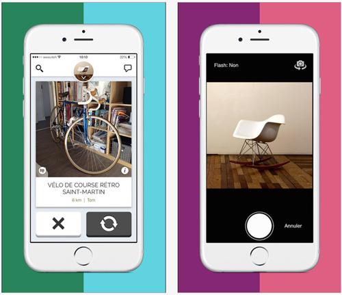 SWOUITCH, une application gratuite pour iPhone qui permet d'échanger des objets entre particuliers