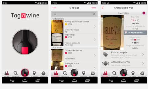 Tagawine, l'application pour amateurs de vins est disponible sur Android