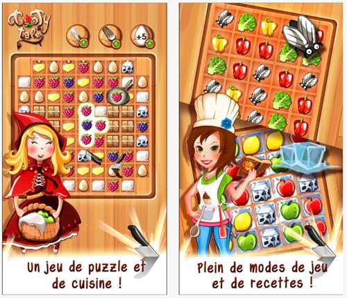 Tasty Tale: un savoureux  puzzle game