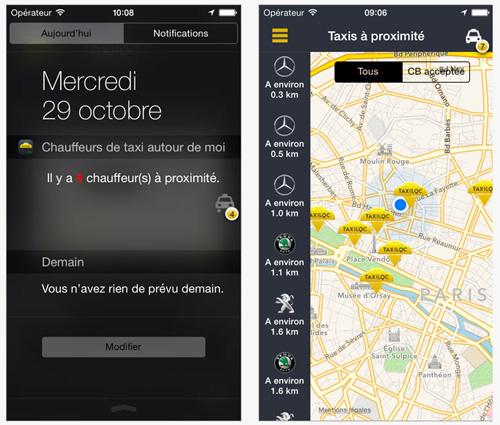 Taxiloc : une application qui vérifie les horaires de décollage et d'atterrissage