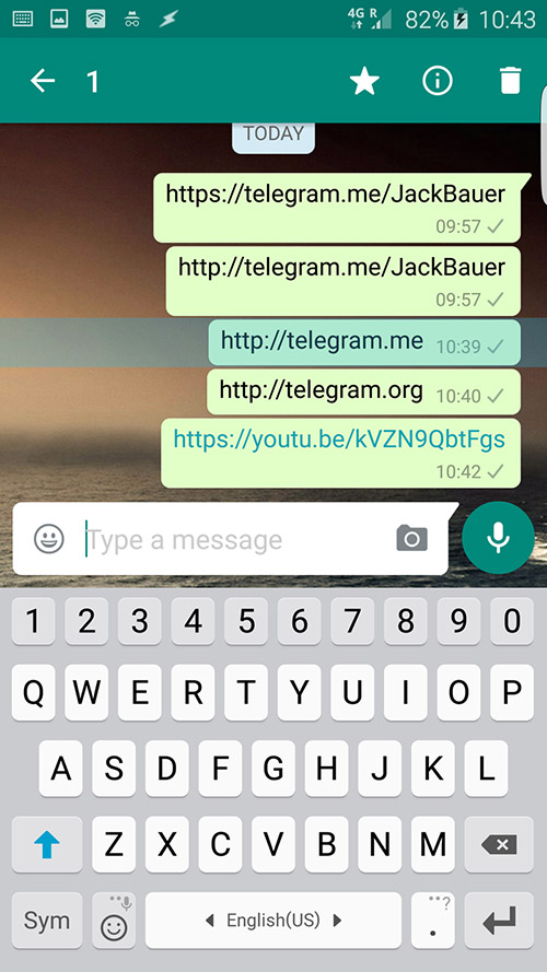 Facebook et Whatsapp veulent-ils freiner la progression de Telegram ?