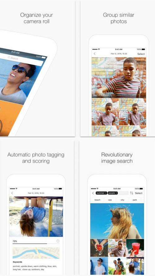 The Roll : la photothèque intelligente et costaud pour iOS