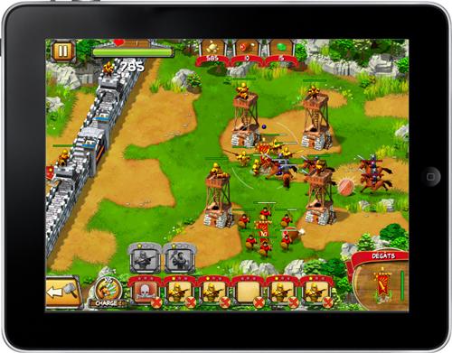 """""""The Wall : Medieval Heroes"""" place le sort d'une cité médiévale dans les mains du joueur"""