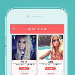 Ticket, l'appli gratuite qui révolutionne les modes de rencontres